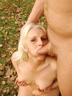 Live hardcore clip with sex starved granny Mandy riding a cock and empty it out by sucking it