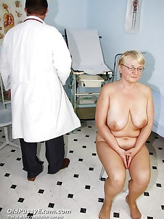 Radka  old cunt speculum gyno checking at clinic