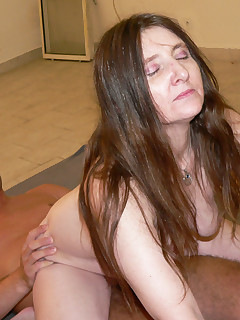 Take a ride on a horny mature slut