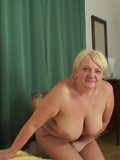 The naughty mother in law is getting fucked by the young man her daughter married