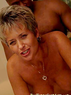 Tracy takes on as many cocks as she can find