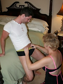 Tracy Sucks And Swallows A Swedish Members Nut