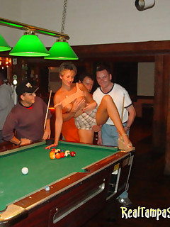 Real Swinger Tracy parties with her site members
