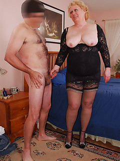 Cum join me on my hot time with Joe A perfect occasion to wear the lace corset slip I wore last week along with the black girdle black lacy top nylons and..