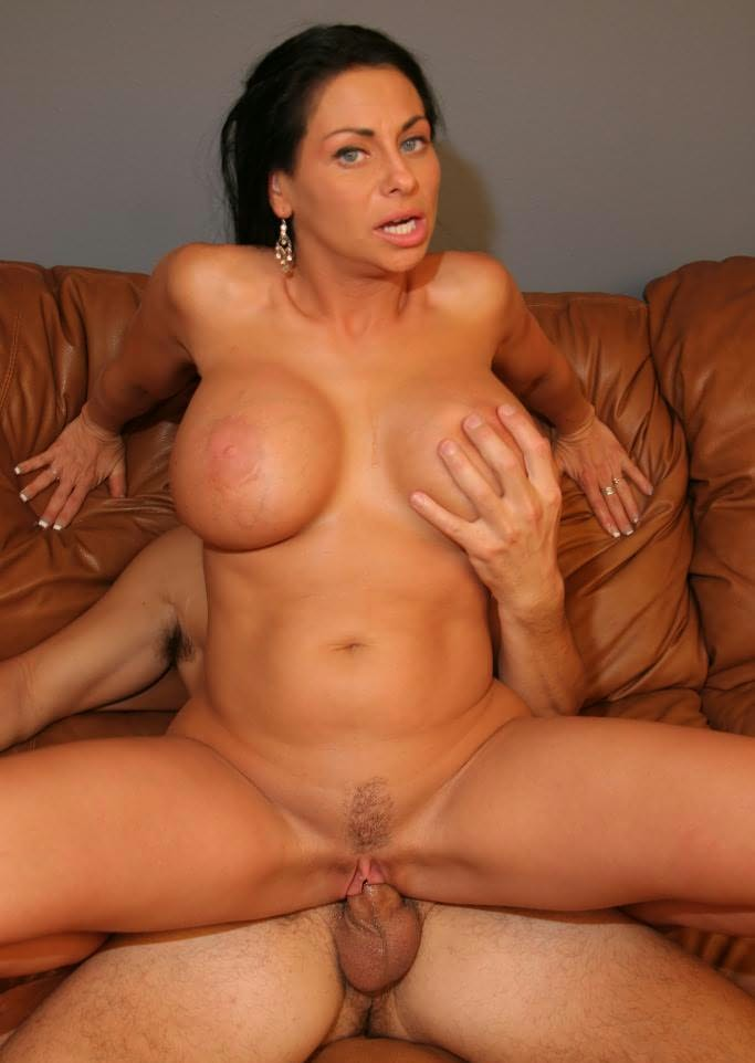 Mom nude for son