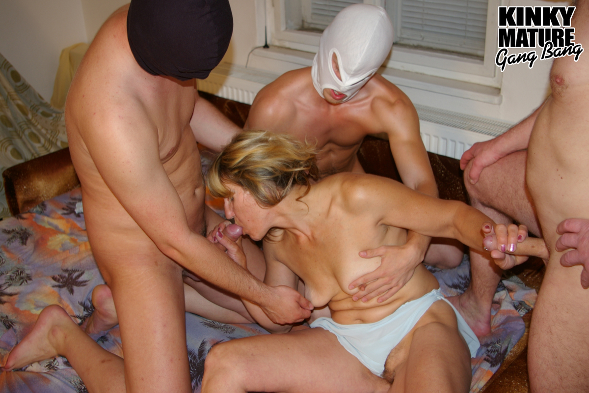 Hairy Mature Swingers Orgy